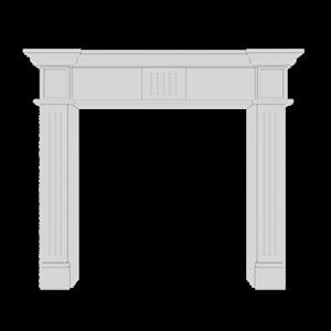 Европласт Камин 1.64.100