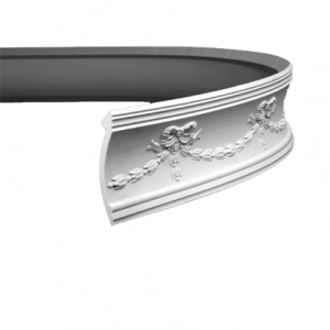 Европласт Карниз под покраску 1.50.120 гибкий