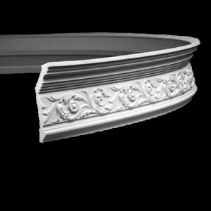 Европласт Карниз под покраску 1.50.128 гибкий
