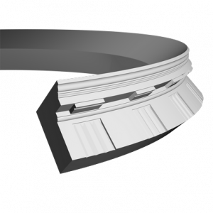 Европласт Карниз под покраску 1.50.151 гибкий