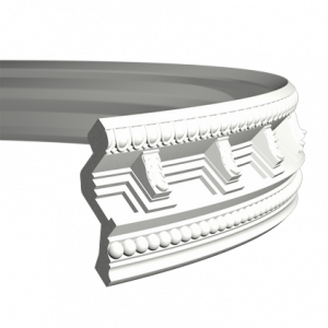 Европласт Карниз под покраску 1.50.169 гибкий