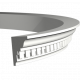 Карниз Европласт 1.50.196 гибкий