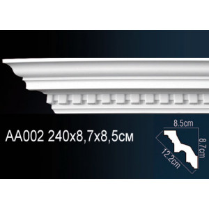 Perfect Карниз потолочный под подсветку AA002