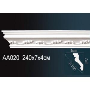 Perfect Карниз потолочный под подсветку AA020
