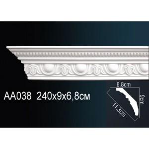 Perfect Карниз потолочный под подсветку AA038