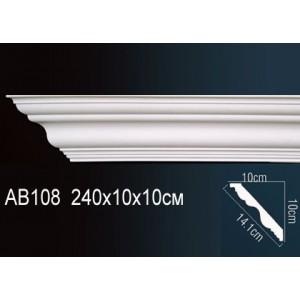Perfect Карниз гладкий под покраску AB108F