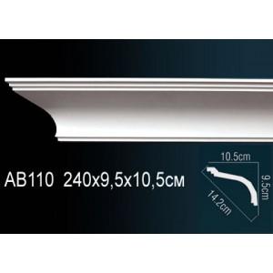 Perfect Карниз гладкий под покраску AB110