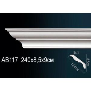 Perfect Карниз гладкий под покраску AB117F