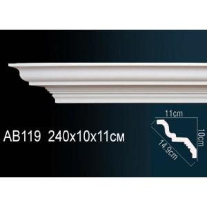 Perfect Карниз гладкий под покраску AB119
