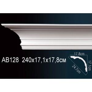 Perfect Карниз гладкий под покраску AB128