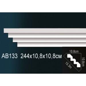 Perfect Карниз гладкий под покраску AB133
