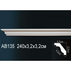 Карниз гладкий под покраску AB135
