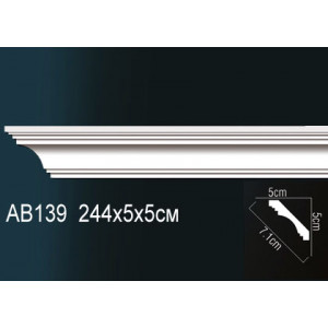 Perfect Карниз гладкий под покраску Ab139