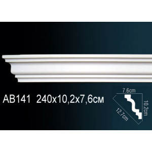 Perfect Карниз потолочный под подсветку AB141