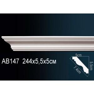 Perfect Карниз гладкий под покраску AB147F
