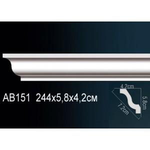 Perfect Карниз потолочный под подсветку AB151