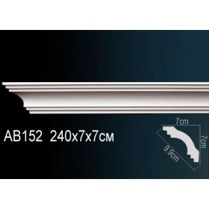 Perfect Карниз гладкий под покраску AB152F