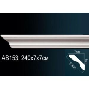 Perfect Карниз гладкий под покраску AB153