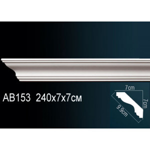 Perfect Карниз гладкий под покраску AB153F