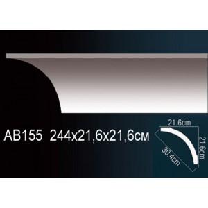 Perfect Карниз гладкий под покраску AB155