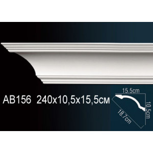 Perfect Карниз гладкий под покраску AB156