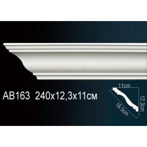 Perfect Карниз гладкий под покраску AB163