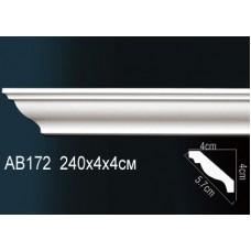 Карниз гладкий под покраску AB172