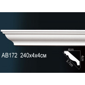 Perfect Карниз гладкий под покраску AB172