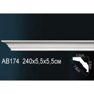 Perfect Карниз гладкий под покраску AB174F