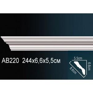 Perfect Карниз гладкий под покраску AB220