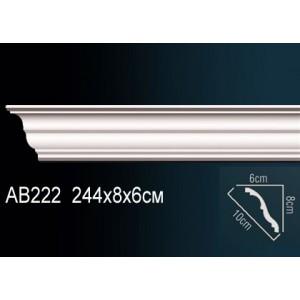 Perfect Карниз гладкий под покраску AB222