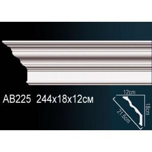 Perfect Карниз гладкий под покраску AB225