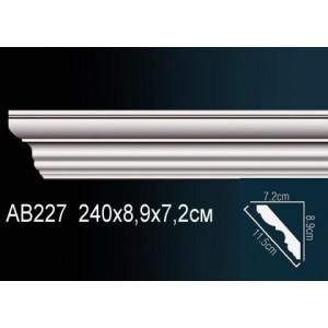 Perfect Карниз под покраску AB227