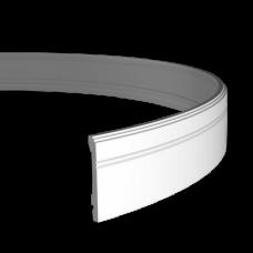 Плинтус напольный под покраску 1.53.103 Гибкий