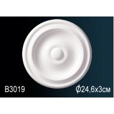 Розетка под покраску B3019