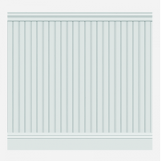 Стеновые ЛДФ панели под покраску Wain 001