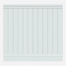 Стеновые панели под покраску ЛДФ Wain 002