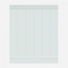 Стеновые панели ЛДФ под покраску Wain 003