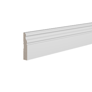 Плинтус напольный под покраску Base021